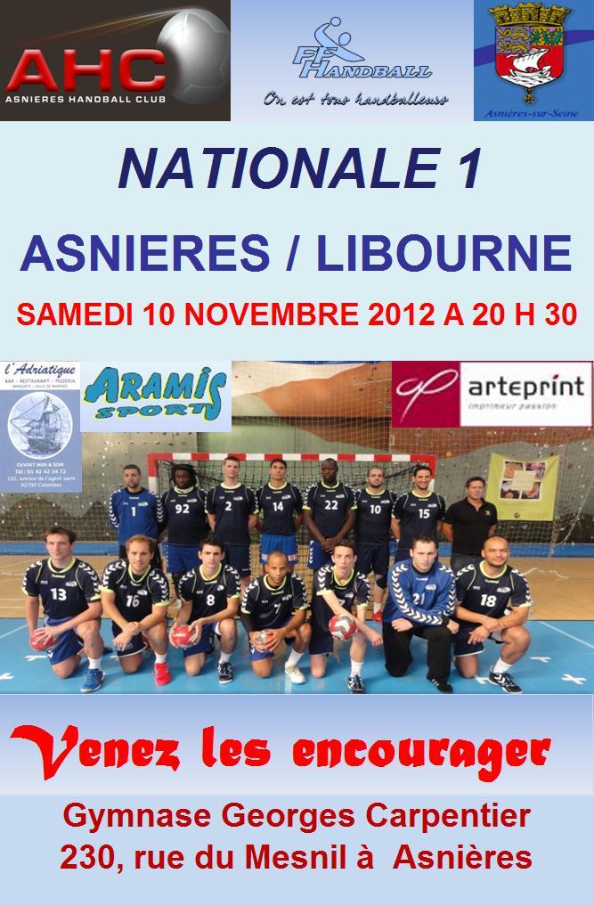 Asnières HC-Libourne dans News ahc-libourne