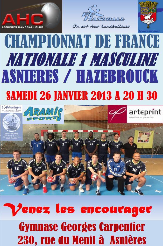 26 Janv. 2013 - Réservez vos places !! dans News asnieres_hazebrouck