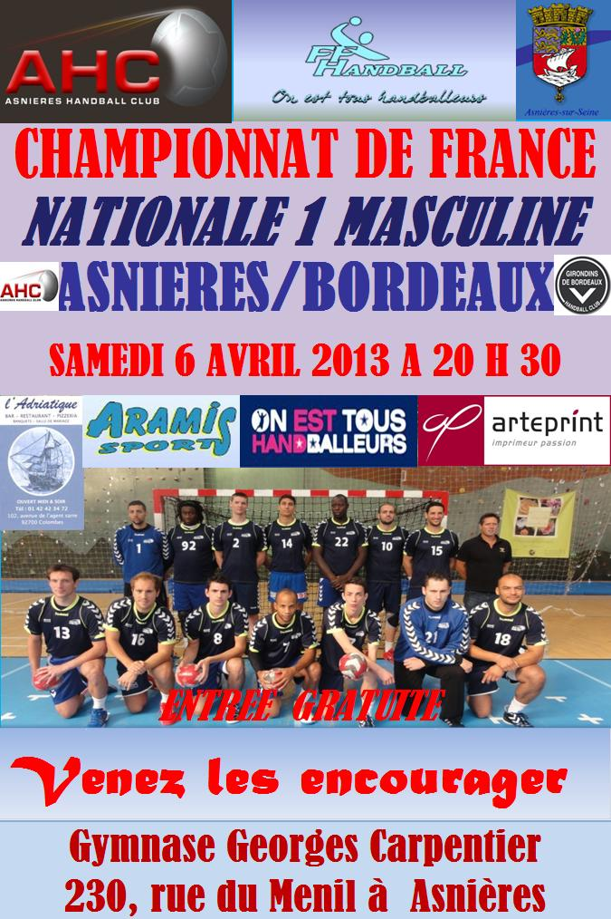 THE MATCH dans News asnieresbordeaux