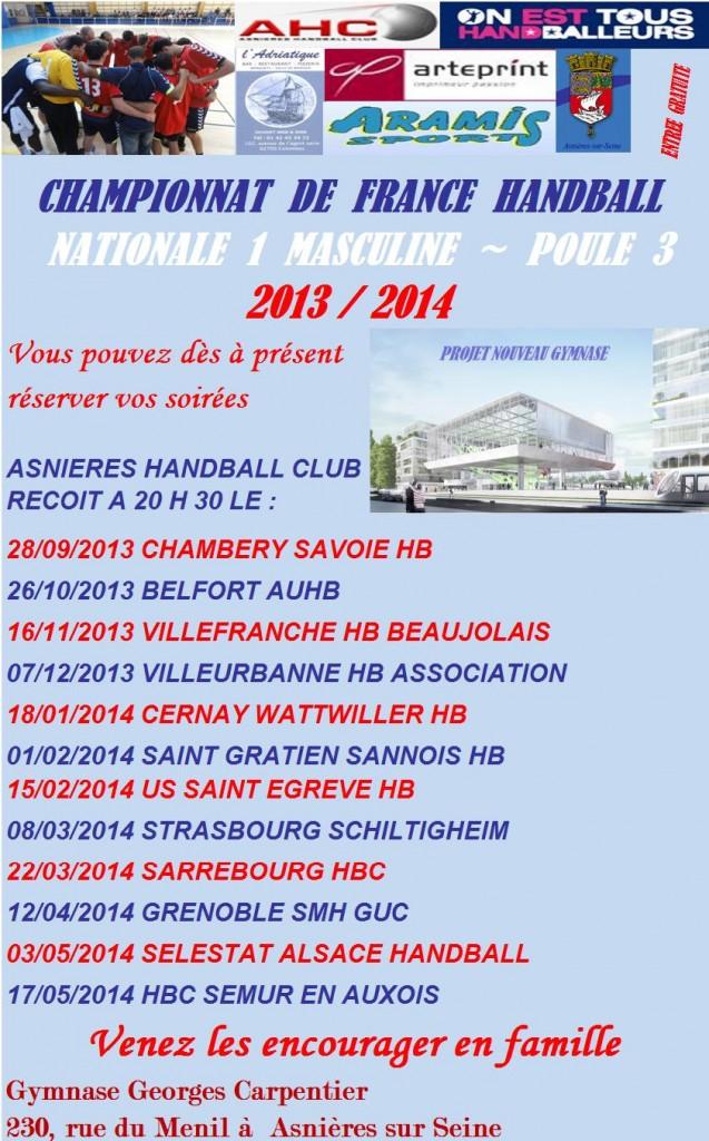 Saison 2013-2014 dans News programme