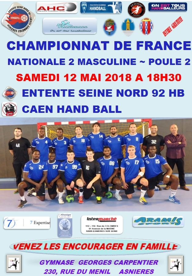 10 MATCH 13052018 CAEN HANDBALL
